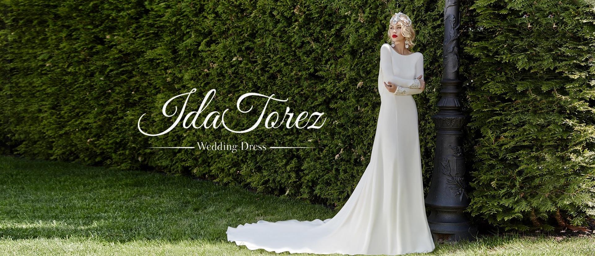 大人気のウエディングドレスデザイナーズコレクションIDA-TOREZ